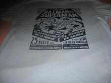 Batman VS Superman in Spanish  Adult X Large T-Shirt