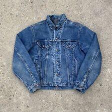 New listing Vintage 80's Levis Blanket Lined Denim Trucker Jacket Size Medium