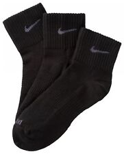 Nike Cushion Quarter Calze - Calzini Uomo Nero (nero/bianco) S (34/38 Eu) con