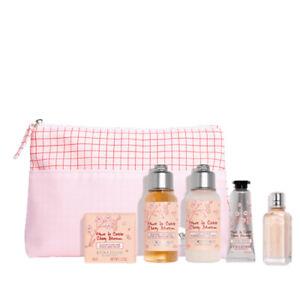L'Occitane Cherry Blossom Discovery Set 6 Piece - Body & Bath Gift Pack