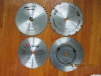 SAW BLADE OF TOOLS TOTALLY LOT OF 4