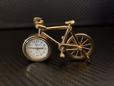 New ListingBicycle Desk Table Clock Quartz Japan Rare