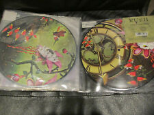 Rush The Garden Picture Disc.2013 RSD Picture Disc Plus New Limbo Key Chain