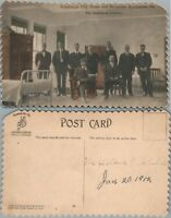 PITTSBURGH CITY HOME & HOSPITALS FIRE DEPT DORMITORY ANTIQUE POSTCARD MAYVIEW