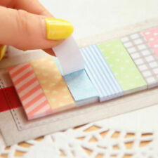 2pcs 160 Pages Cute Sticky Notes Sticker Marker Bookmark Flags Memo
