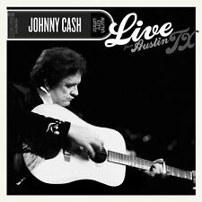 JOHNNY CASH LIVE FROM AUSTIN TX 2005 CD + DVD BOXCOUNTRY ROCK NEW
