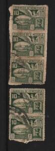 Venezuela: 1928; Scott 289, very rare in used, F-VF,.. VZ0749