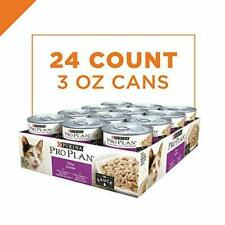 New listing Purina Pro Plan Adult Wet Cat Food Tuna Entree in Sauce - 24 3 oz. Pull-Top Cans