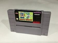 Tiny Toons Buster Busts Loose  Snes Super Nintendo Cleaned Tested working NICE