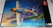 1/48 - Hobbycraft - Curtiss P-36A/ Classic 1930s & WWII Fighter (Markings for US
