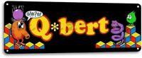 Q-bert Classic Arcade Marquee Game Room Garage Wall Art Decor Metal Tin Sign