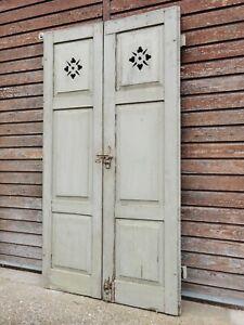 Alte Shabby Klappläden - Vintage Fensterläden - Jugendstil Klappladen, Shutter