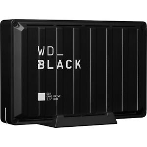 Western Digital WD 8TB Black D10 Game HDD Portable External Drive PS5 Refubished