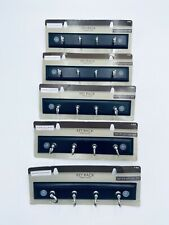 Lot Of 5 Rack Hooks Key Jewelry Wall Mounted Black Nickel Finish Hawthorne Place