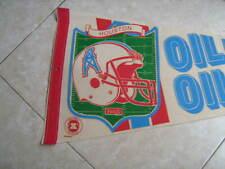 New listing Vintage Houston Oilers Souvenir Felt Pennant NFL National Football League Texas