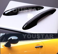 US STOCK X2 GLOSS BLACK Door Handle Covers for MINI Cooper S 2014 on F55 F56