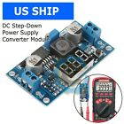 Buck Step-down LM2596 Power Converter Module DC 4.0~40 to 1.3-37V LED Voltmeter