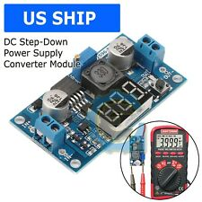 Buck Step Down Lm2596 Power Converter Module Dc 4040 To 13 37v Led Voltmeter