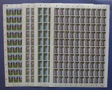 NVPH 1194-1197 COMPLETE VELLEN van 100 Zomerzegels 1980