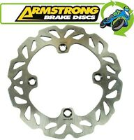 New Armstrong Wavy Rear Brake Disc fits Honda CBF600N / ABS 2004 to 2009
