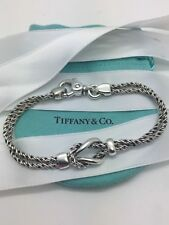 Tiffany & co. Sterling silver RARE double rope love knot bracelet!!!