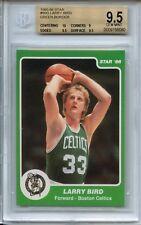 1985-86 Star #95G Larry Bird BGS 9.5 (green border) (10 Centering)