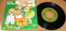 PIPPO FRANCO - MI SCAPPA LA PIPI', PAPA' - VINILE 45 GIRI 1979 CINEVOX SC 1124