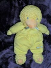 Vintage Carter'S # 6356 Baby Yellow Duckie Duck Rattle Stuffed Animal Plush Toy