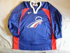 Nike Team-Issued Authentic Jersey France French Hockey NEW 56 90s vintage rare