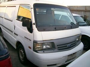 WRECKING FORD ECONOVAN LWB VAN 2001 5 SPEED MANUAL  $1 WHEEL NUT PARTS ONLY