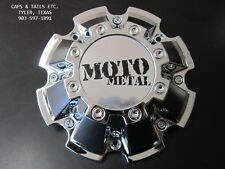 Moto Metal center cap M-793 Chrome NEW MOTO METAL 962 center cap S809-10-13