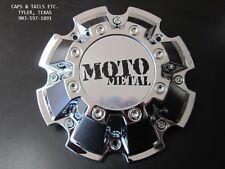 Moto Metal center cap M-793 Chrome NEW MOTO METAL 962 center cap S809-10-13