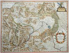 ITALIEN VENETIEN IL BELLUNESE CON FELTRINO FELTRE BLAEU KOLORIERT ORNAMENTE 1640