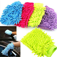 Car Vehicle Microfiber Hand Towel Coral Chenille Washing Cleaning Glove