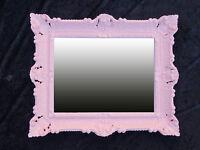 WANDSPIEGEL SPIEGEL RETRO ANTIK BAROCK BAROCKSPIEGEL RENAISSANCE 56x46 LILA 12*