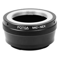 FOTGA M42 42mm Lens to Sony E-Mount NEX-7 6 5 A7 A7S A7R II A6500 A5100 Adapter