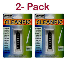 Dr. Collins CleanPic Thin Flexible Toothpicks, 2-Pack (TOTAL 64 Ct)