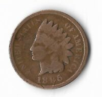 Rare Very Old Antique US 1896 Indian Head Penny USA Collection Coin Cent LOT:E28