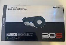 Sena 20S-01 Motorcycle Bluetooth Communications System Intercom