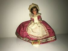 Vintage 1950's Doll Poupees Cadette BRETAGNE Made In France Celluloid With Tag