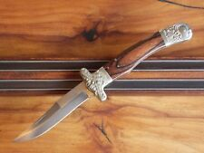 "UNITED CUTLERY, 461, JAPAN ""SAMUEL C. WRAGG,  FANCY BOLSTERED  KNIFE, c. 1970-80"