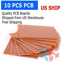 10 Pcs 5x7cm (2x3in) DIY PCB Prototyping Perf Circuit Boards Breadboards US