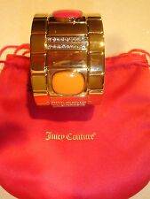 Juicy Couture Neon Cabochon/Rhinestone Stretch Cuff Bracelet  NWT Size Average