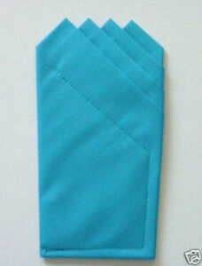 POCKET SQUARE- Prefolded & Sewn Squares Just Slips In Suit Pocket