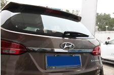 Edelstahl Kofferraumleiste fuer Hyundai Santa Fe Bj2013