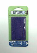 Pop! Walletz Purple 3 in 1 Phone Wallet Kickstand and Grip New Sealed