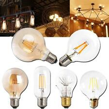 LED Filamento Bombilla E27 Edison RETRO VINTAGE Lámparas 3w 4w 6w 8w CA
