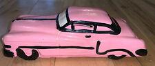 Pink Vintage Car Antique 1950 Mercury Monterey  Collectible Piggy Bank Cobra