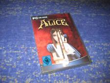 American McGee's: Alice - PC Spiel Deutsche Version NEU und verschweisst Sammler
