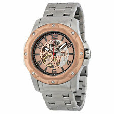 Invicta Stainless Steel Case Wristwatches with Skeleton